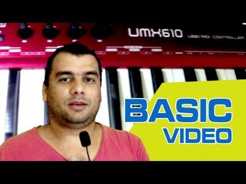 UMX 610 e Live 8 - Iniciação Básica