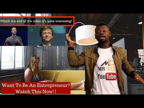Want To Be An Entrepreneur? Watch This Now! Chance to Win $100/Prime Course (Comment&Subscribe)