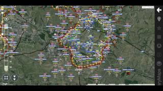 Война на Украине Обзор карты боевых действий