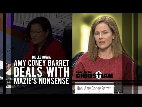 Bibles Down: Amy Coney Barrett Deals with Mazie's Nonsense