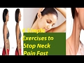 6 Simple exercies to stop neck pain and stiffness