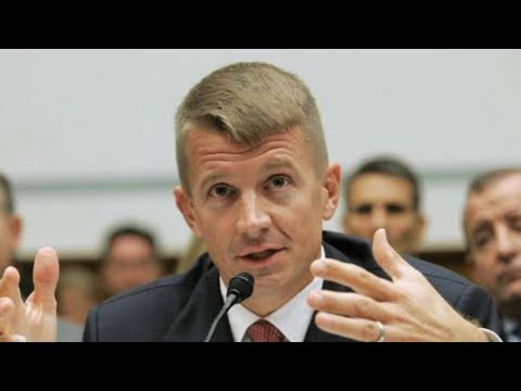 Blackwater Founder Erik Prince Urges Trump to Privatize Afghan War & Install Viceroy to Run Nation