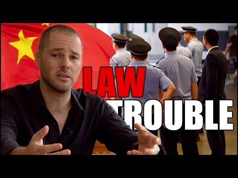Legal Trouble In China