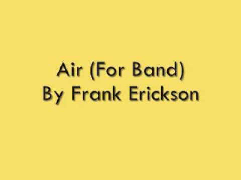Air For Band By Frank Erickson