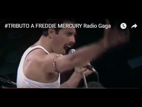 #FREDDIE MERCURY Radio Gaga
