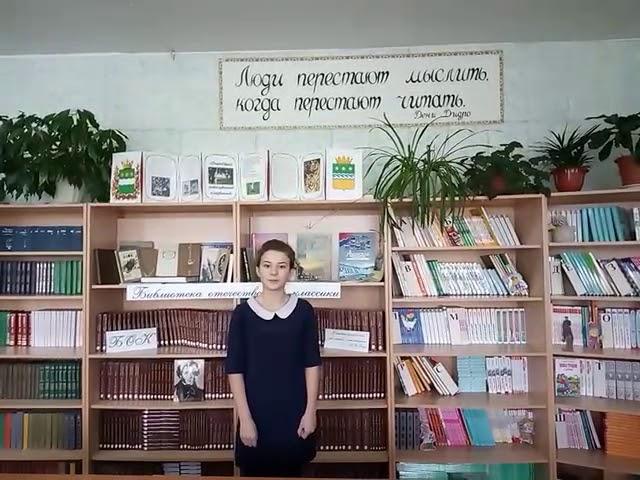 Изображение предпросмотра прочтения – АнгелинаХасиева читает произведение «Принимаю» А.А.Блока