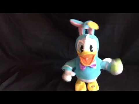 Disney Hallmark Animated Donald Duck