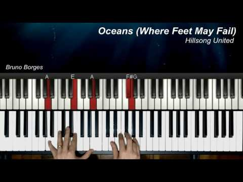 Oceans Where Feet May Fail Keyboard Chords By Hillsong United