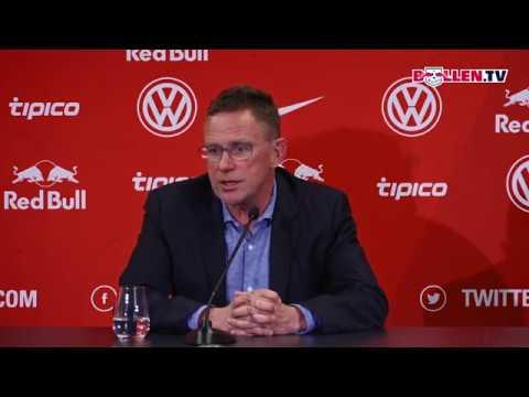 RB Leipzig: Pressekonferenz zu aktuellen Personalthemen