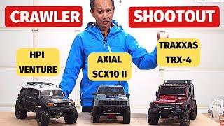 Best RC Rock Crawler Review -TRX4 SCX10 Venture