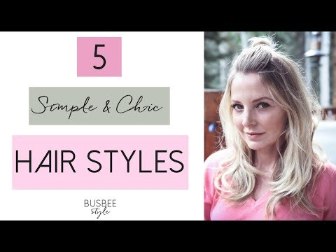 5 Simple & Chic Hair Styles: Beauty Over 40