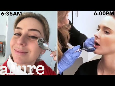 A Dermatologist's Entire Routine, From Waking Up to Lip Injections | Work It | Allure
