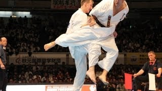 THE 10th WORLD KARATE CHAMPIONSHIP Men quarterfinals Andrey Materov...
