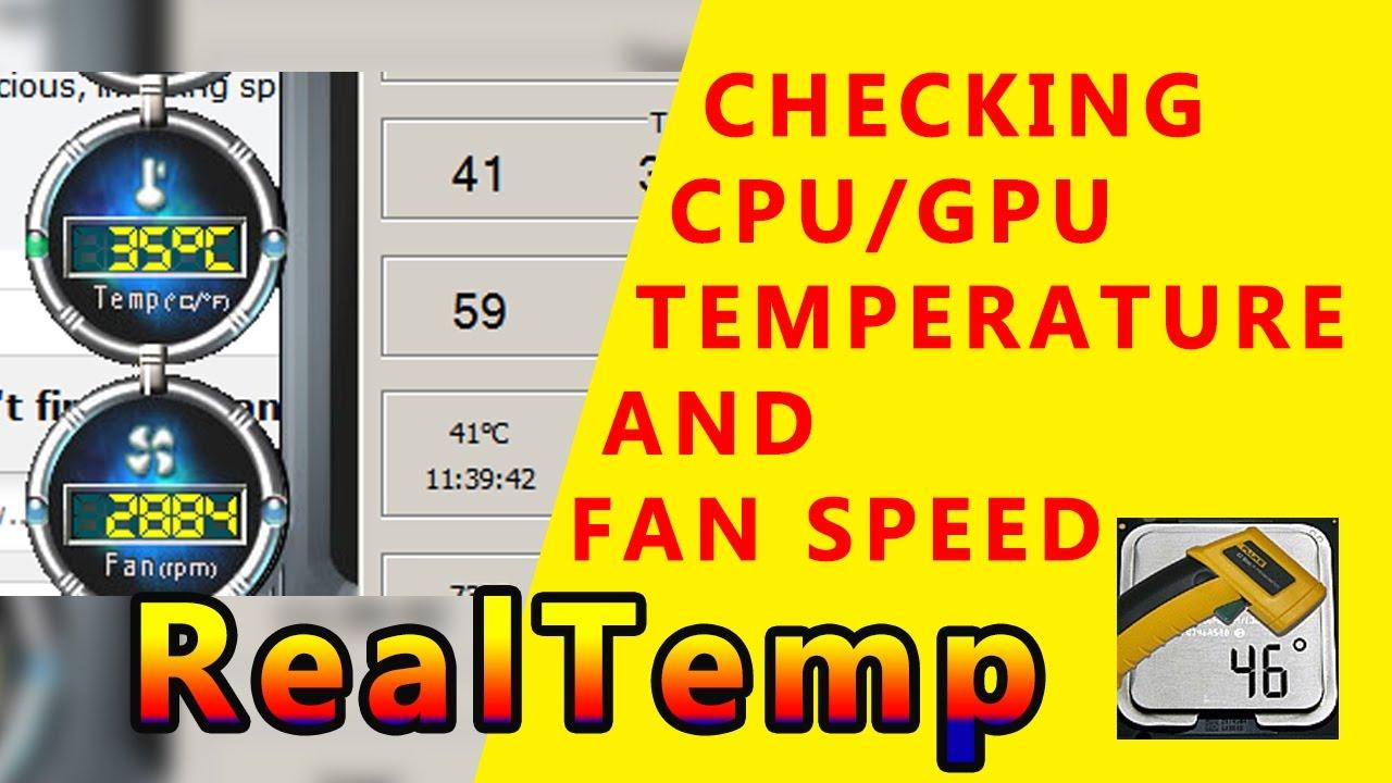 Cpu Fan: Check Cpu Fan Speed