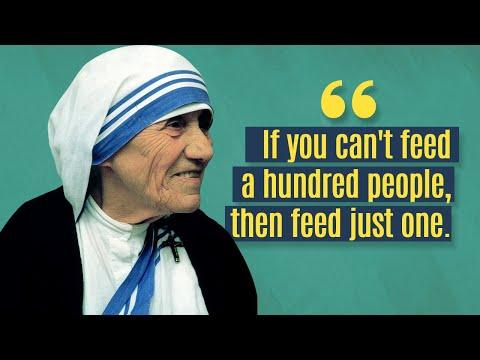 Top 10 Inspiring Mother Teresa Quotes