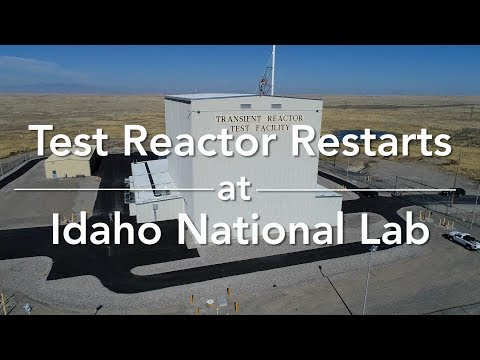 Test Reactor Restarts at Idaho National Laboratory