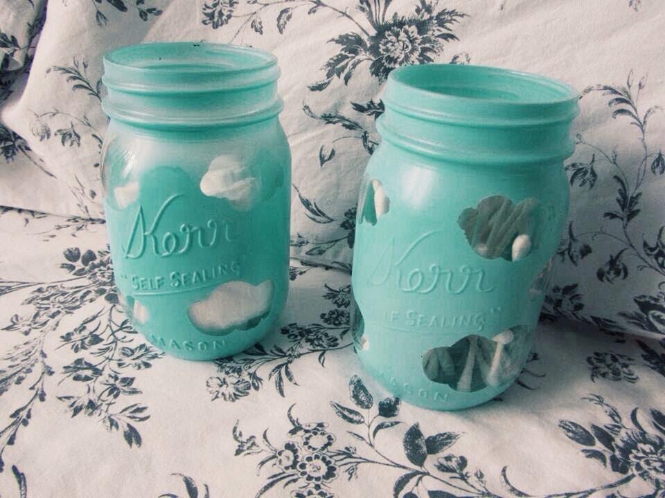 Diy Cute Cloud Mason Jar Youtube