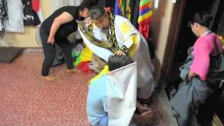 Korean Shaman Performs Exorcism