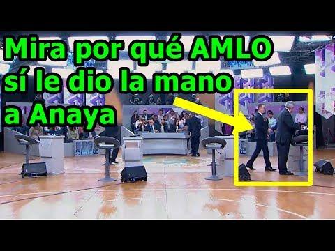 #AMLO sí le da la mano a #Anaya y con eso le arruina el plan que Ricky Riquin Canallin pensaba hacer