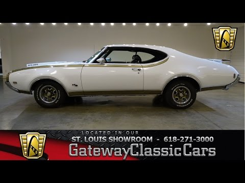 #7161 1969 Oldsmobile 442 - Gateway Classic Cars of St. Louis