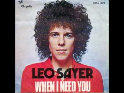 Leo Sayer When I Need You HQ Remastered Extended Version
