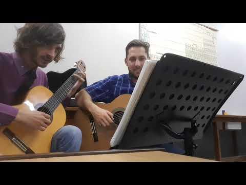 Vivaldi - Winter (classical guitar duo)