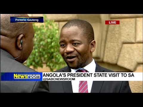 Angolan President, João M G Lourenço state visit to SA