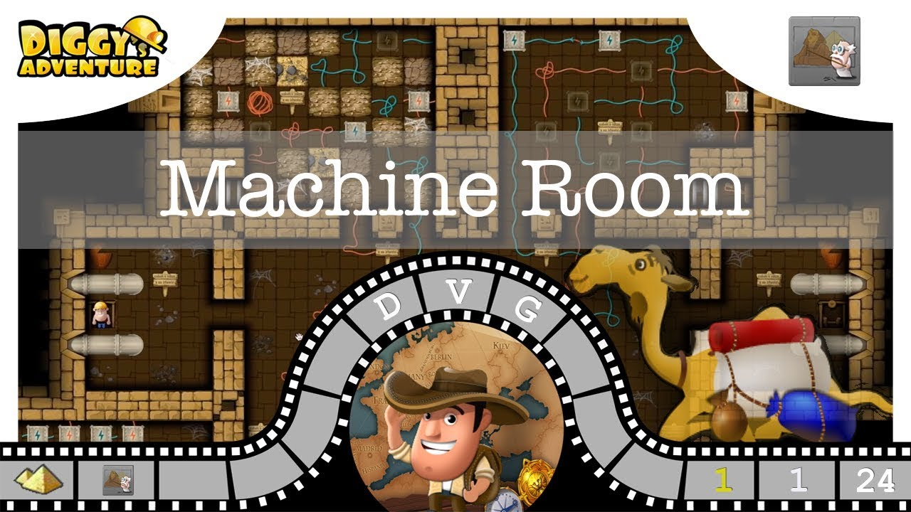 Machine Room Diggy S Adventure