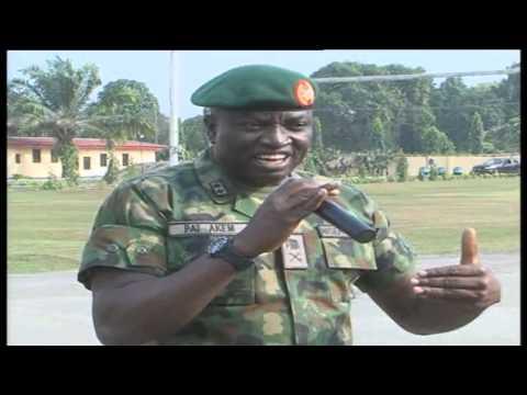 Brig. Gen. Okwudili Fredrick Azenta assumes duty as Commander 4 Brigade, Nig. Army