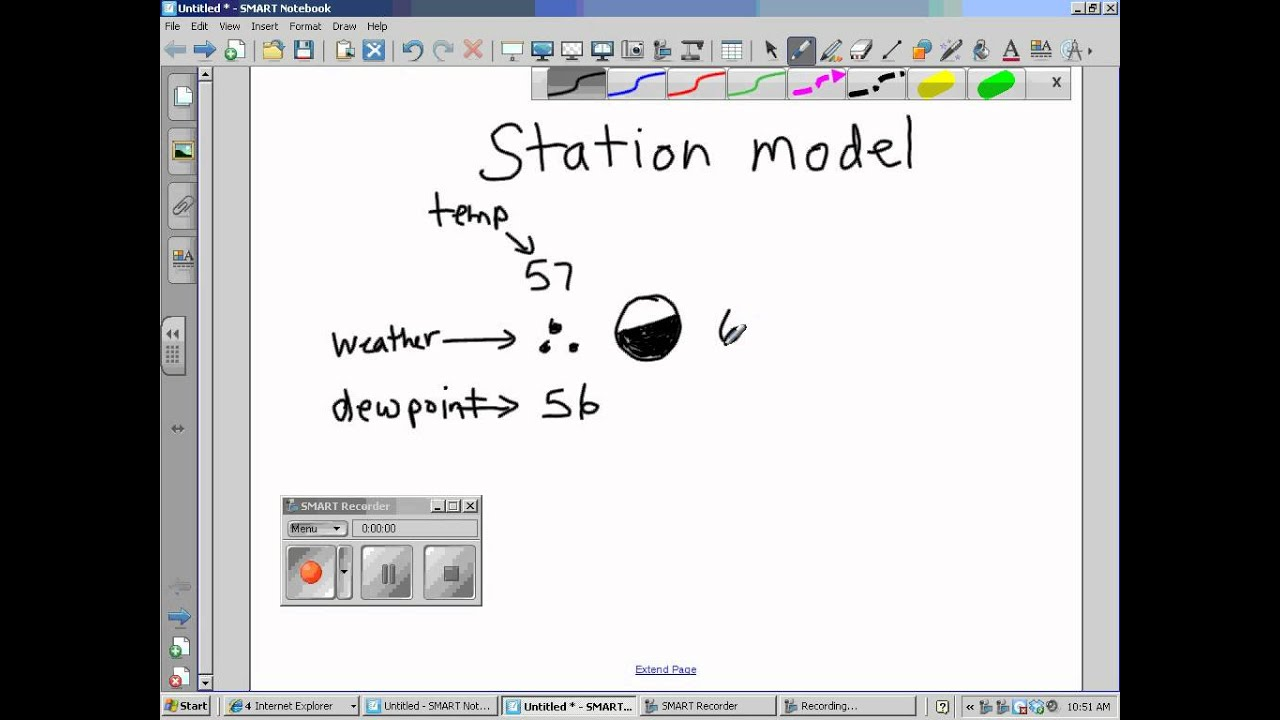 How to read a station model 32012wmv YouTube – Weather Station Model Worksheet