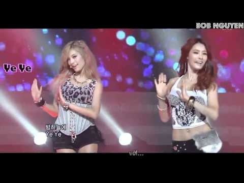 [Vietsub] After School RED - In The Night Sky Live