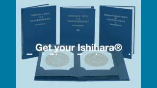 Graham Field Ishihara Test Chart Books for Color Deficiency
