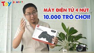 ĐẬP HỘP bộ máy game điện tử 4 nút 10.000 TRÒ CHƠI!