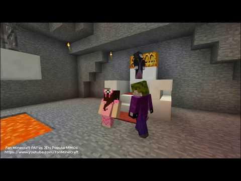 Power Ranger Pat rescues Jen Elsa from Joker Dantdm and Maleficent - Minecraft Power Rangers
