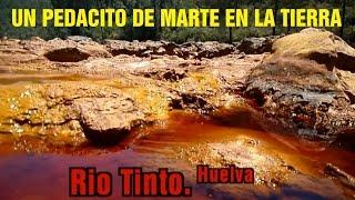 Rio Tinto. Un escenario marciano en la Tierra HD. Red River. Huelva (Spain)