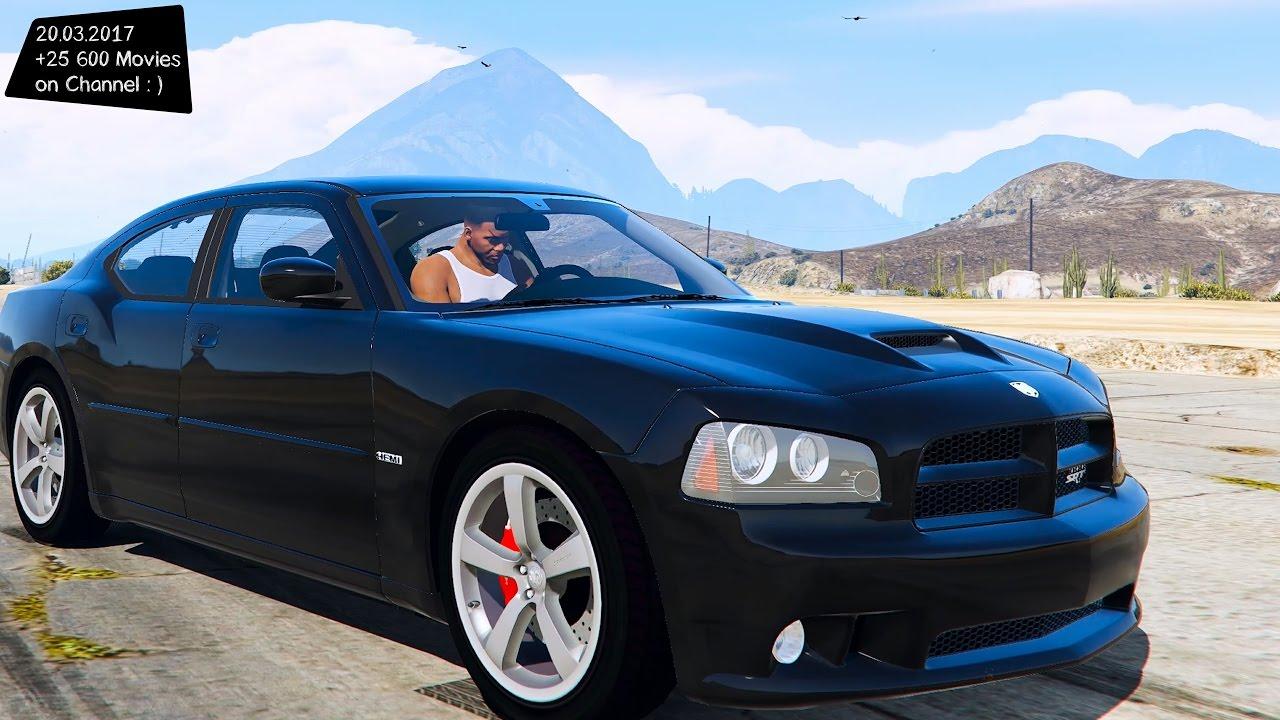 2006 Dodge Charger Srt8 1 0 Gta V Tuning �� 4k 60fps