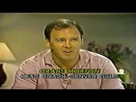 USFL Report 1983 - Interview with Craig Morton, Denver Gold Head Coach