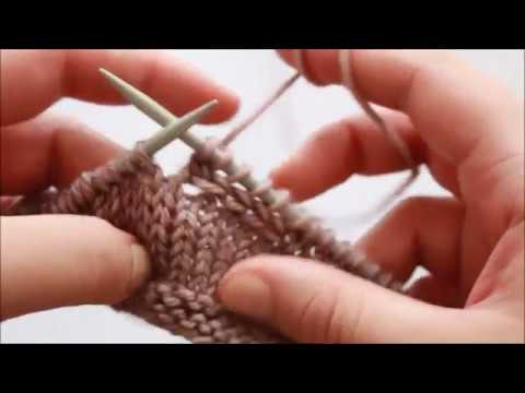 Stitch Tutorial: How I Knit a Braid Across a Flat Piece of Knitting