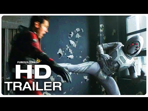 ANT MAN AND THE WASP Ant Man Vs Ghost Fight Trailer (NEW 2018) Ant Man 2 Superhero Movie HD