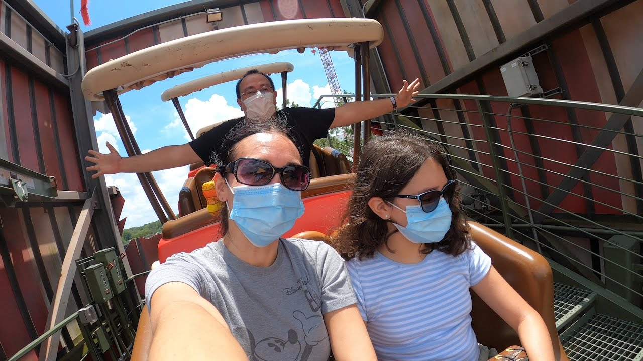Solo Ride on Barnstormer at Walt Disney World Magic Kingdom!