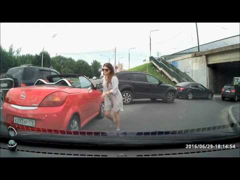Car Crash Compilation, Russian Women, This is funny #5