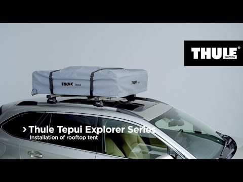 Rooftop Tents – Thule Tepui Explorer Series – Installation of rooftop tent -  North America
