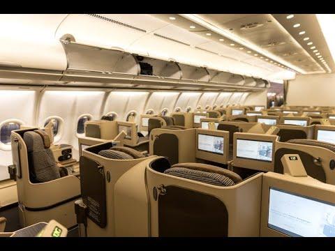 TRIP REPORT - Etihad Premium Lounge + A340-600 BUSINESS CLASS - Abu Dhabi to Paris (EY31)