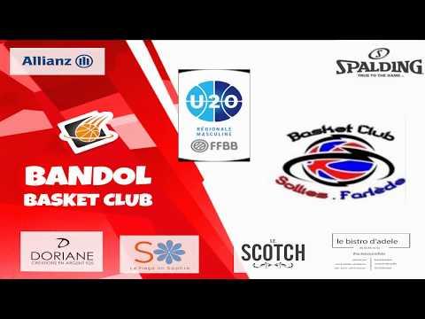 Bandol BC U20 - Sollies U20: 80-71