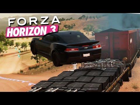 Zagrajmy w Forza Horizon 3 #6 - WYŚCIG Z POCIĄGIEM! WOW!- Xbox One