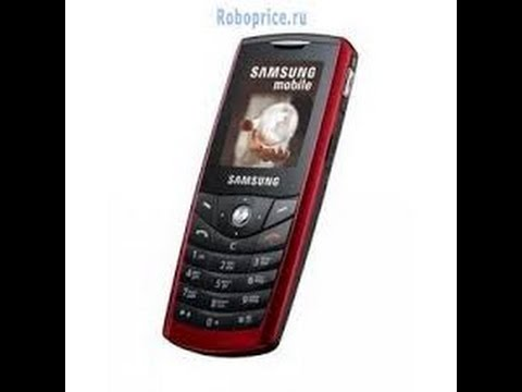 Samsung SGH-E200 ringtones on SoundFond Player