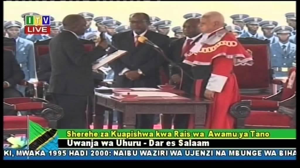Magufuli aapishwa kuwa Rais wa Tanzania