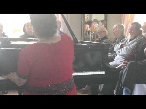 Marcella Crudeli plays  F. Schubert: Impromptu op.90 n.4 - Concert in Berlin