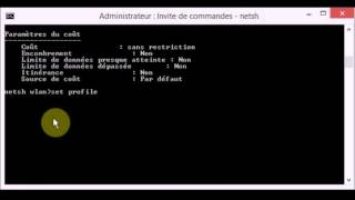 Fixer le problème impossible de se connecter a internet wifi sous window 8/8.1