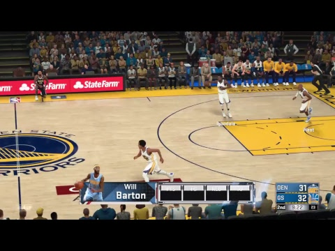 NBA 2K18 Today Warrior vs Nuggets Tonight's Game Full ...